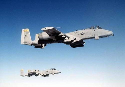 Fairchild A-10A Thunderbolt-2 Штурмовик
